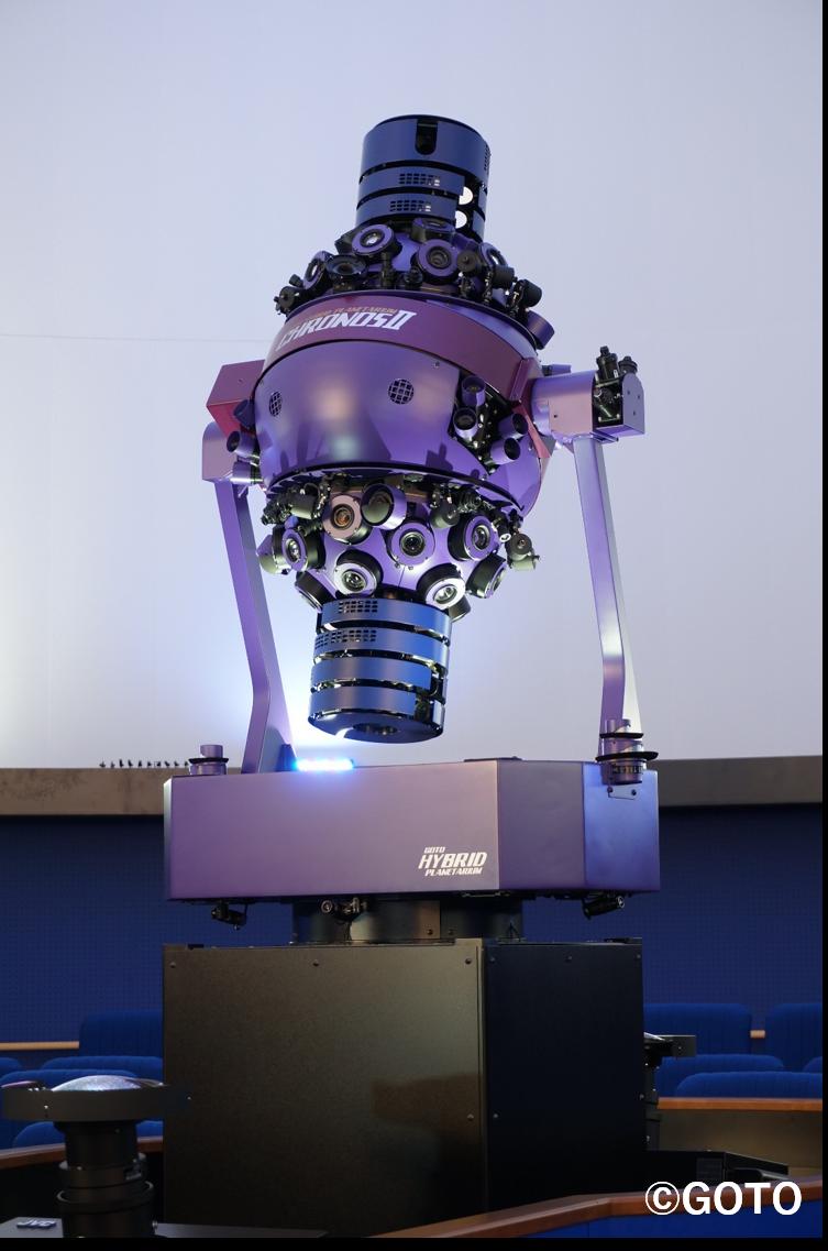 サイエンスドーム投影機